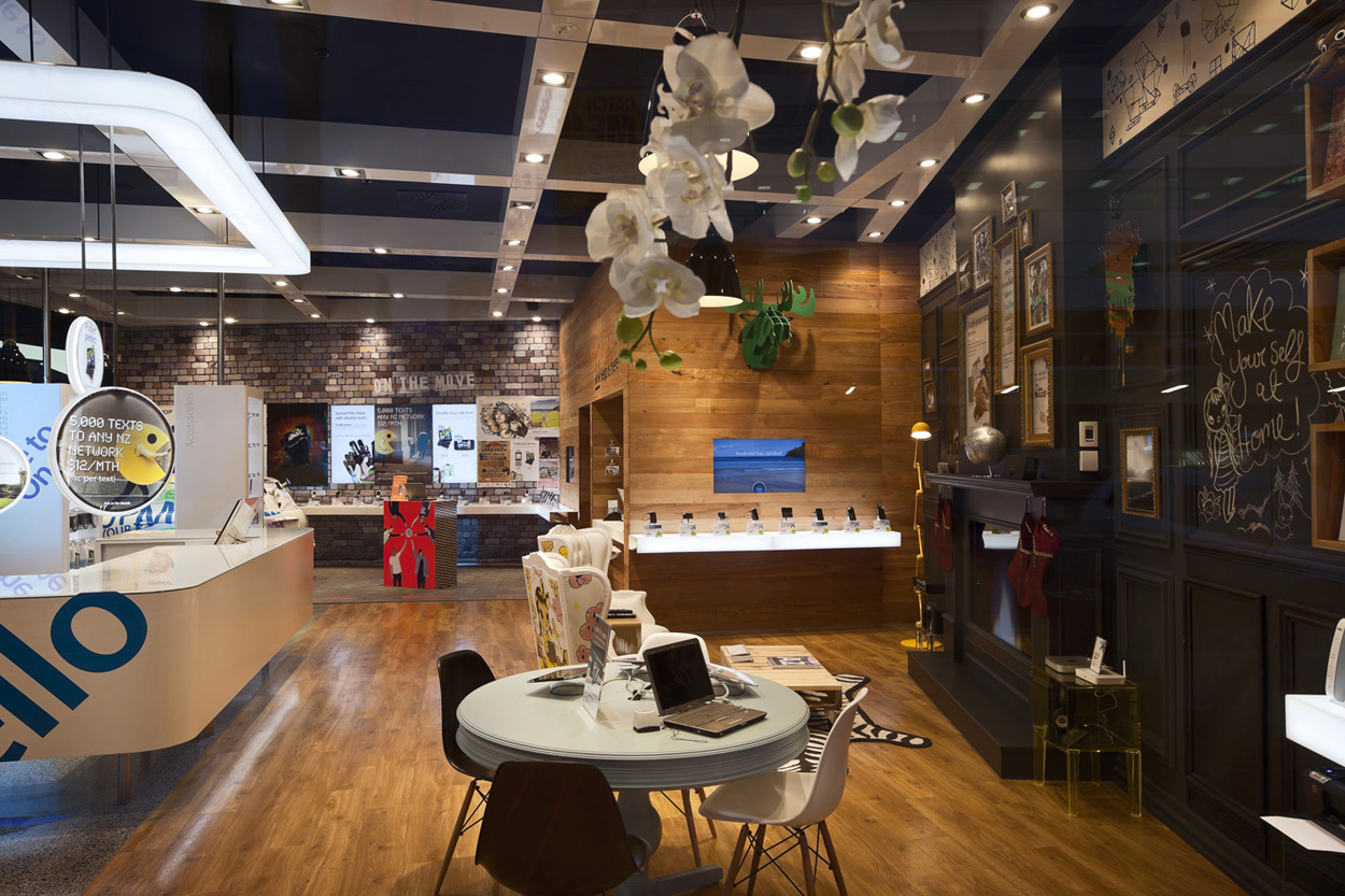 Imagine These Retail Interior Design Telecom Victoria Street London Gascoigne Associates