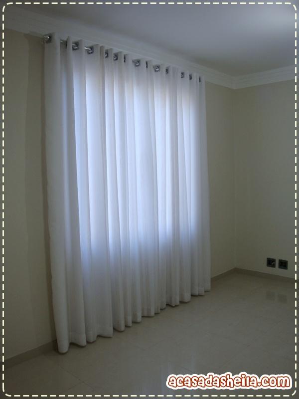 A Casa da Sheila Como prometido as cortinas!!!