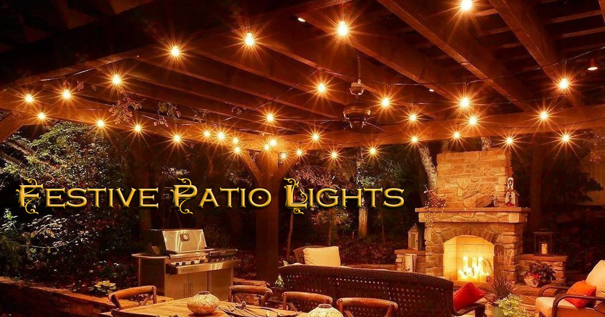 Wonderful My Outdoor Dinner Parties Just Became More Elegant With These Festive Patio  Lights That I Got Deeply Discounted For An Honest Review.