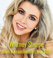 Whitney Sharpe - Miss Massachusetts USA 2016