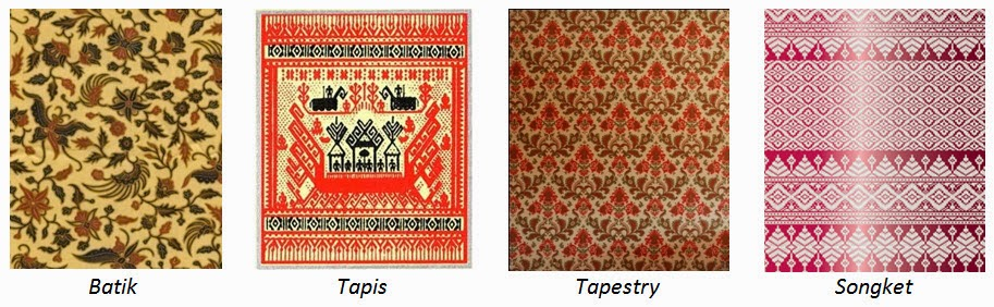 ... biasanya dilakukan dengan membuat jahitan/setikan pada kain/tekstil