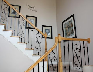 Fotos en escaleras con pasamanos de madera interiores caja - Pasamanos de escaleras interiores ...
