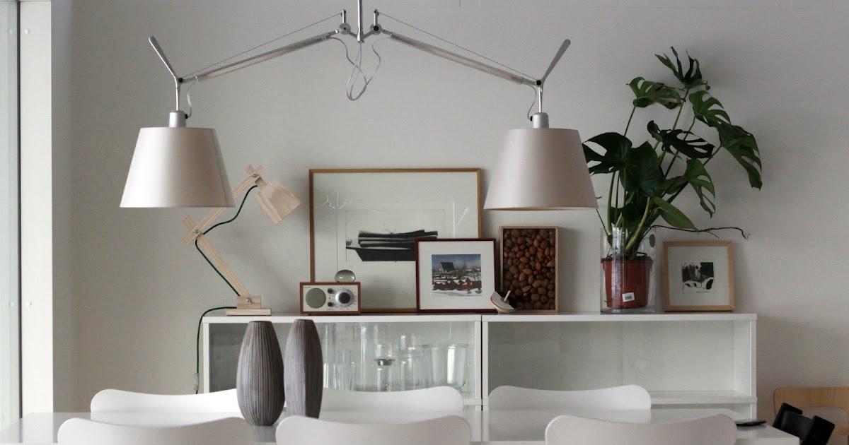 näköisiä kulmia Ruokailupöydän lamppu