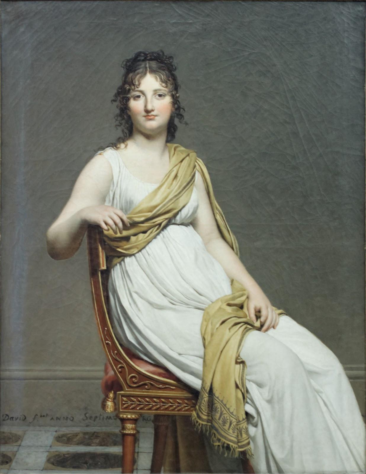 Portrait of Madame de Verninac, 1799