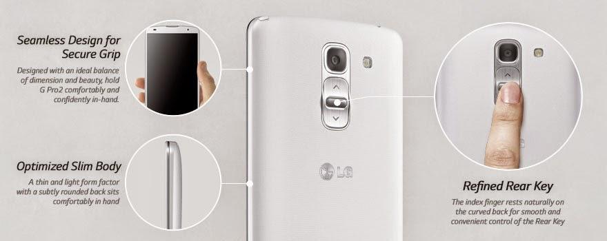 Desain LG G Pro 2