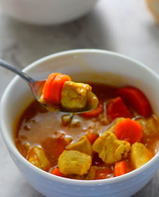 slow cooker chicken and carrot stew