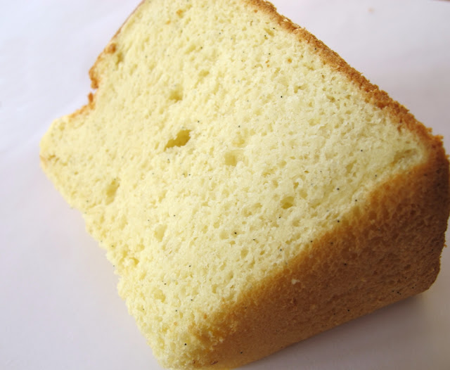 Le Chiffon Cake vanille de la pâtisserie Yamazaki - Paris