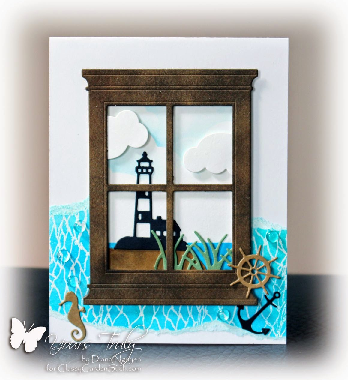 Diana Nguyen, nautical, Impression Obsession, Poppystamps, Our Daily Bread Designs
