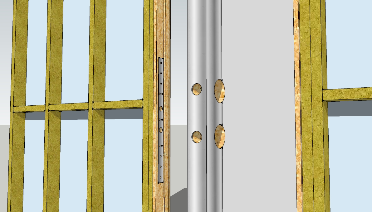 Holes In Edge Of Door Wrap Plate For Dead Bolt Locks Throw Bolt And Door Knobs Striker Sc 1 St Stand Out Work  sc 1 st  pezcame.com & Door Reinforcer Plate \u0026 Door Reinforcer Stainless Steel Sc 1 St True ...