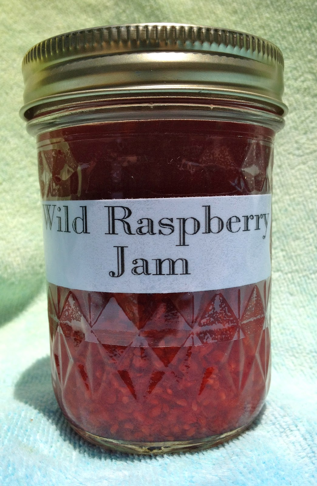 Gallimaufry Grove: Wild Raspberry Jam -- Very Low Sugar