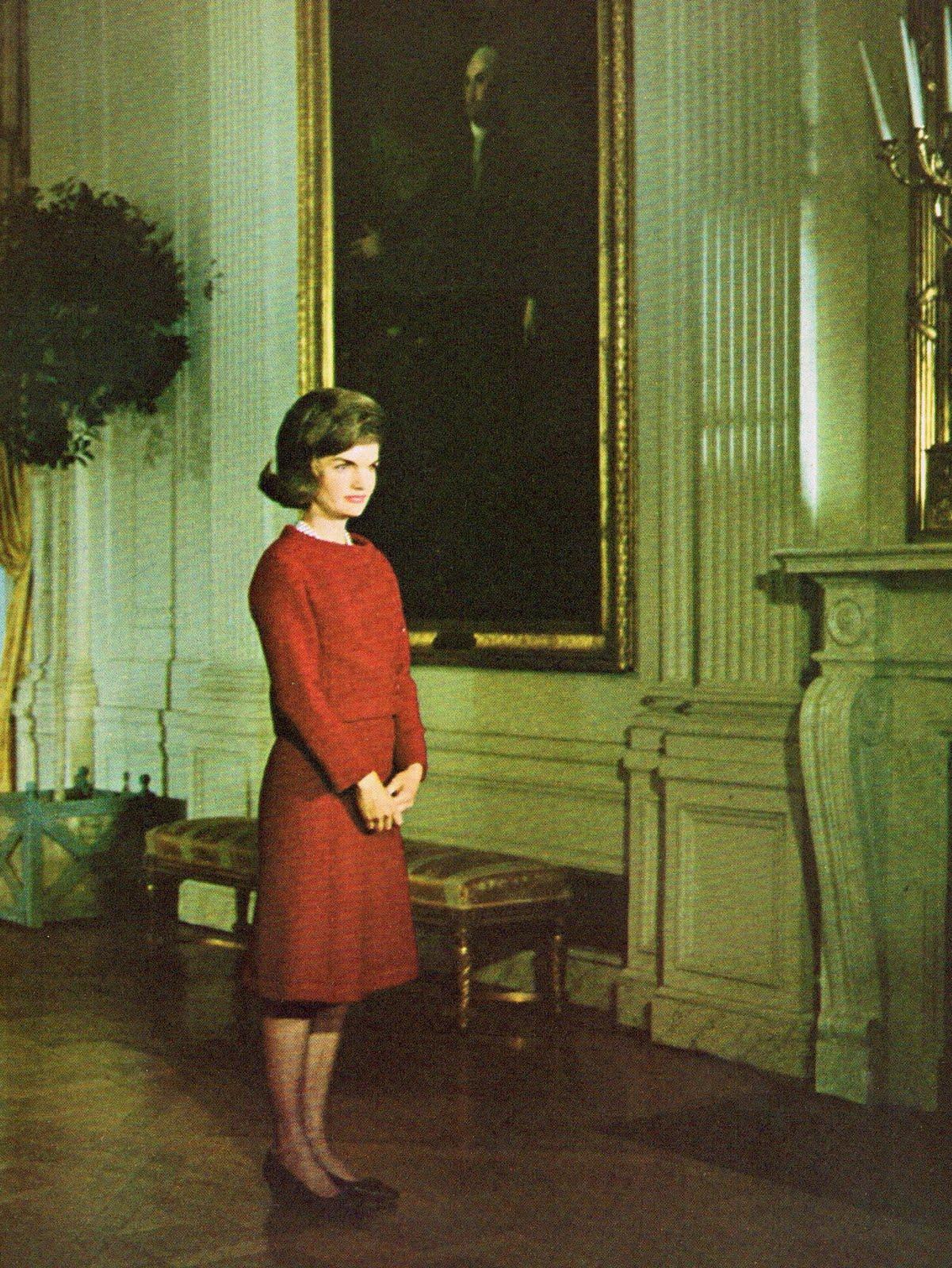 Jackie Kennedy White House Tour Book