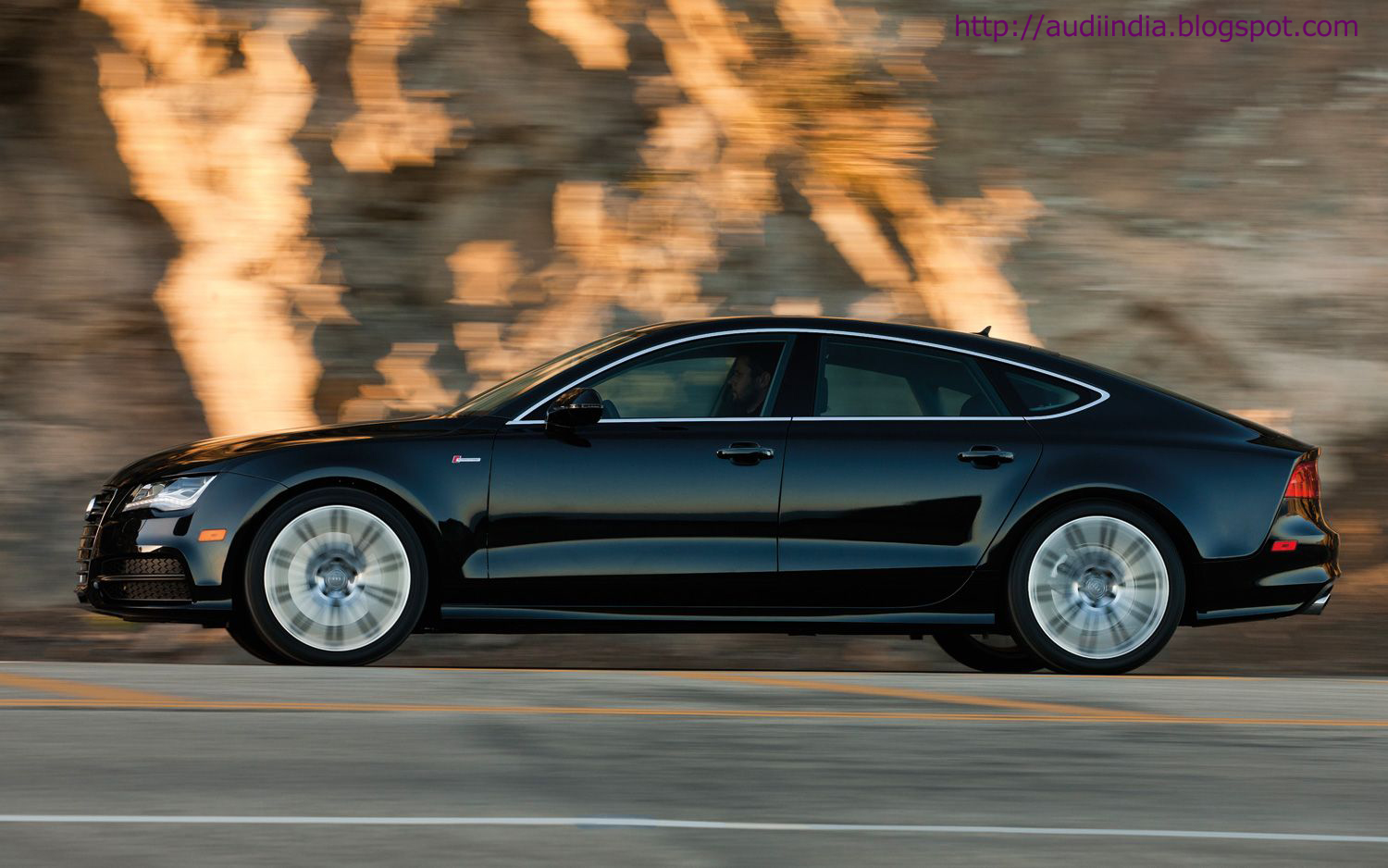Phantom Black 2012 Audi A7 Sportback - Luxury Liberated ...