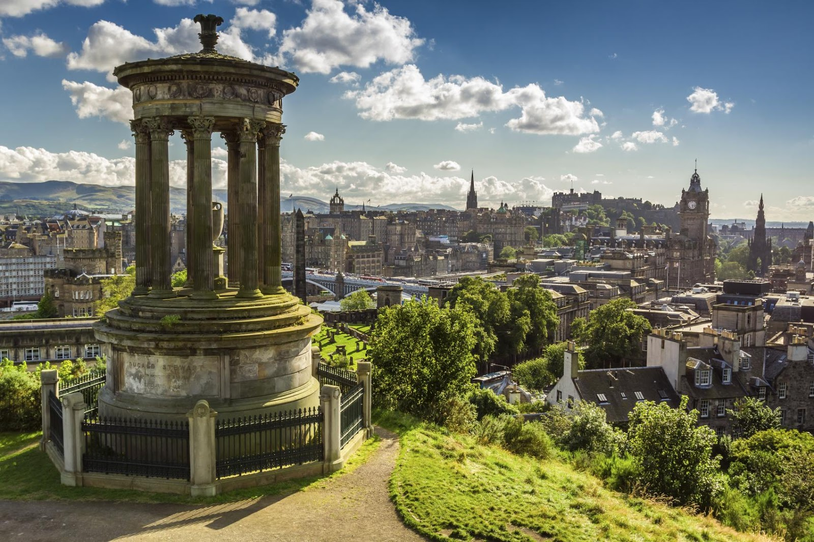 Edinburgh Scotland Exotic Travel Destination
