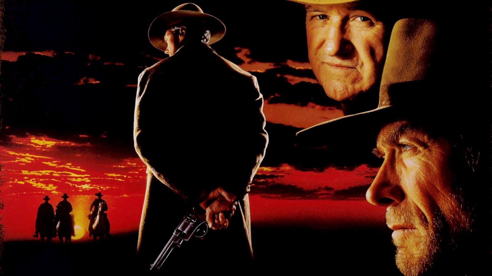 Sin Perdon Wallpaper en 1992 Clint Eastwood Estrena