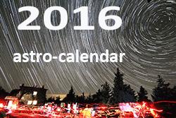 ASTRO EVENTS 2016