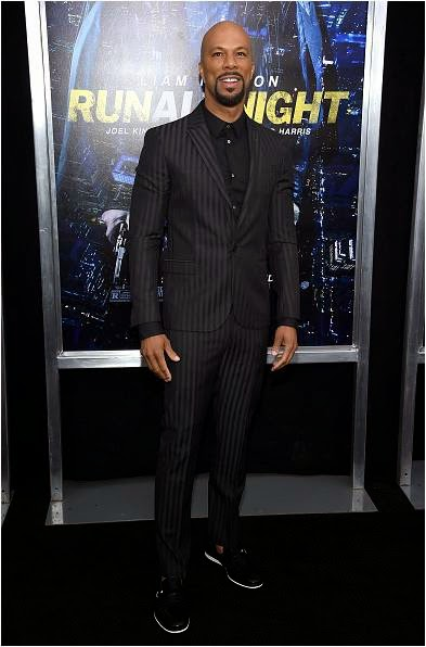 Common at Run All Night Premiere 2015