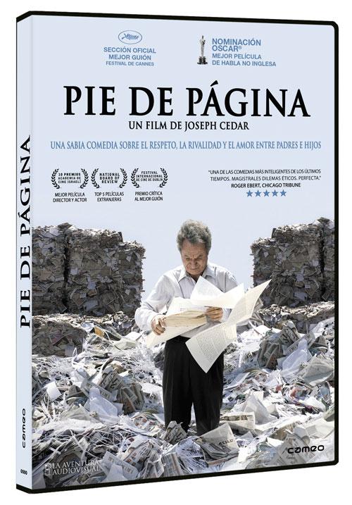Lanzamiento en DVD de Pie de Página
