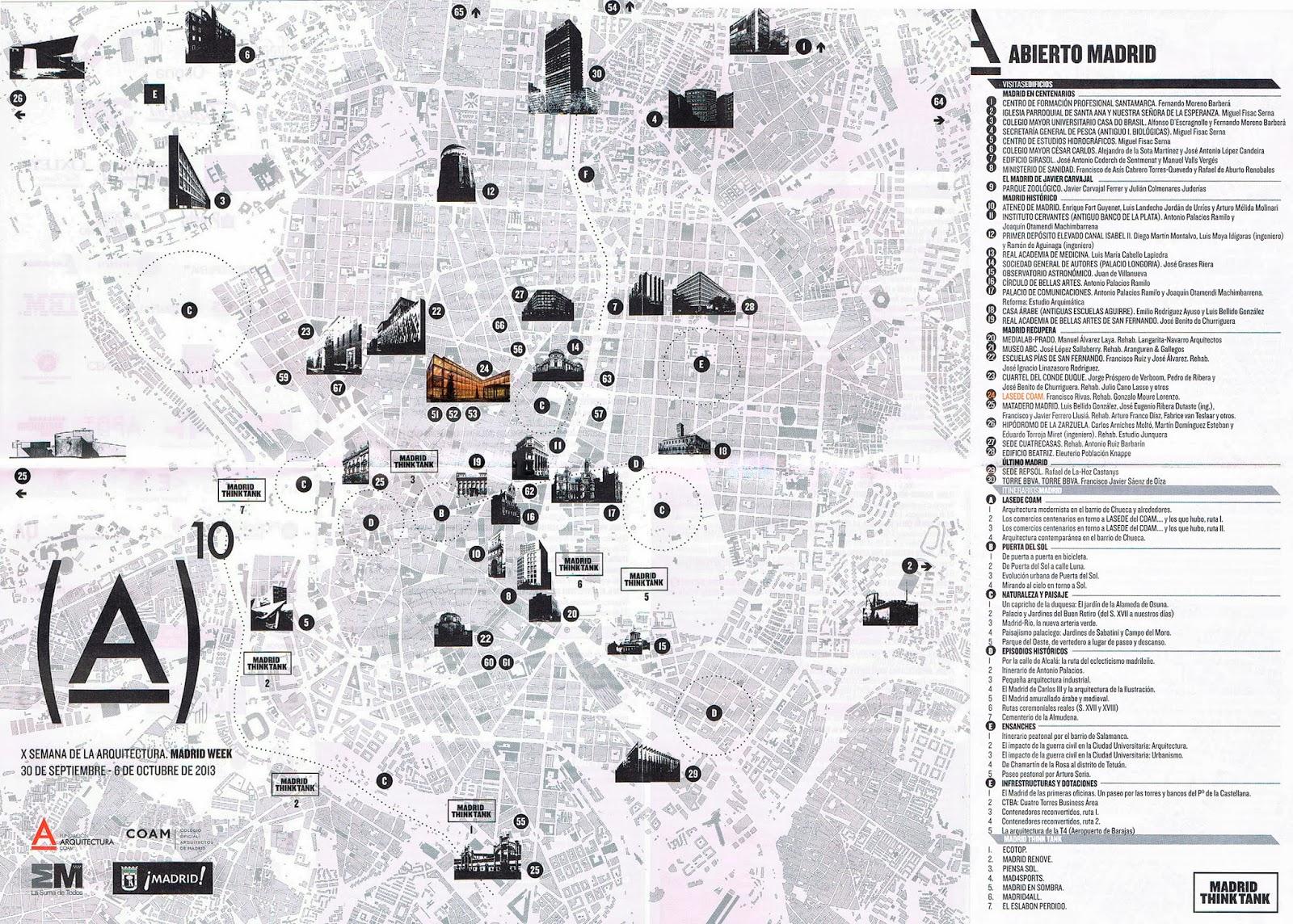 Edificios Semana Arquitectura Madrid