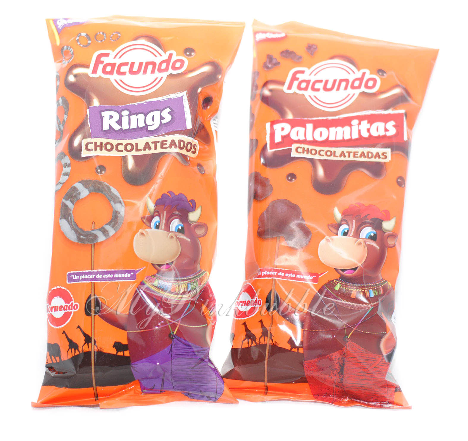 Facundo palomitas y rings chocolateados