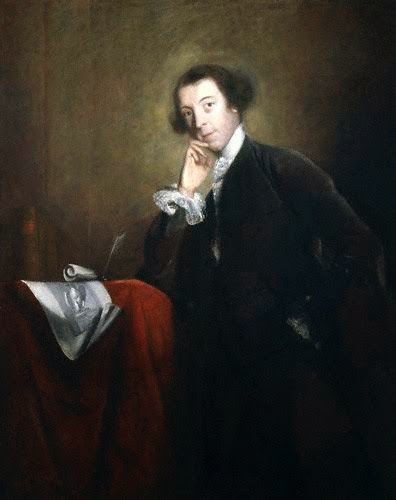 Horace Walpole by Joshua Reynolds 1756