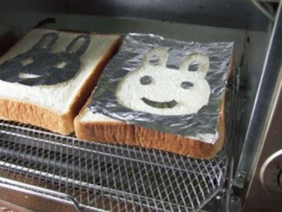 How to make kawaii toast art