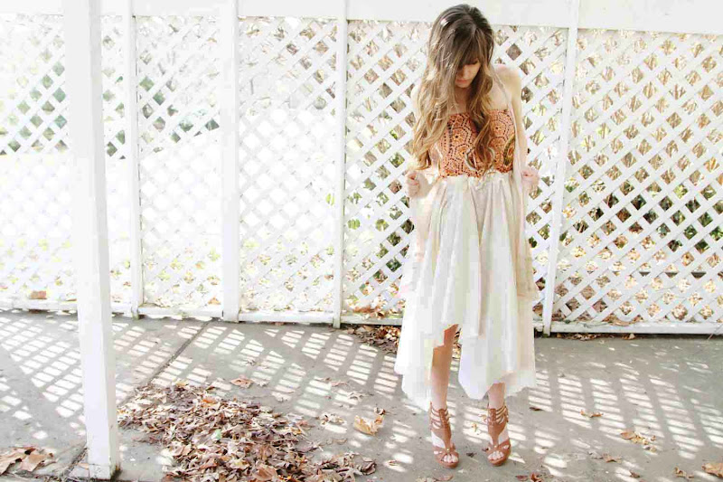 Sincerely Kinsey No Sew Skirt Diy