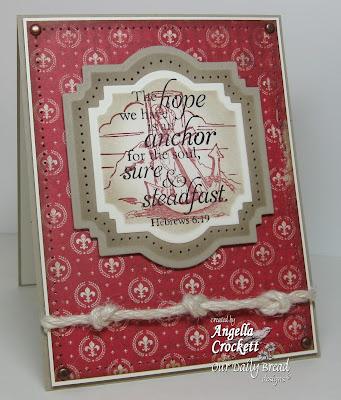 "ODBD ""Anchor"" Designer Angie Crockett"