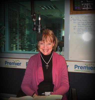 Author Sophie Neville at Premier Christian Radio