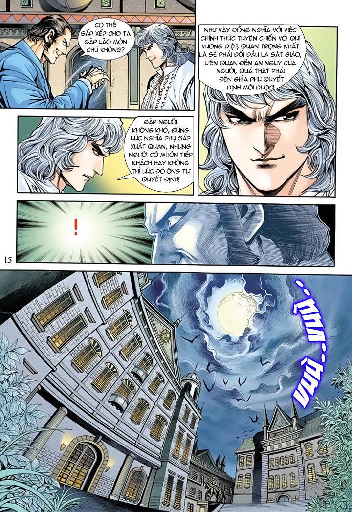 Tân Tác Long Hổ Môn chap 175 - Trang 15