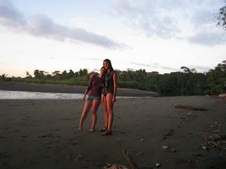 Happy on beach