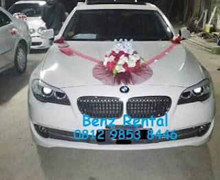 Rental sewa mobil pernikahan BMW di Bogor