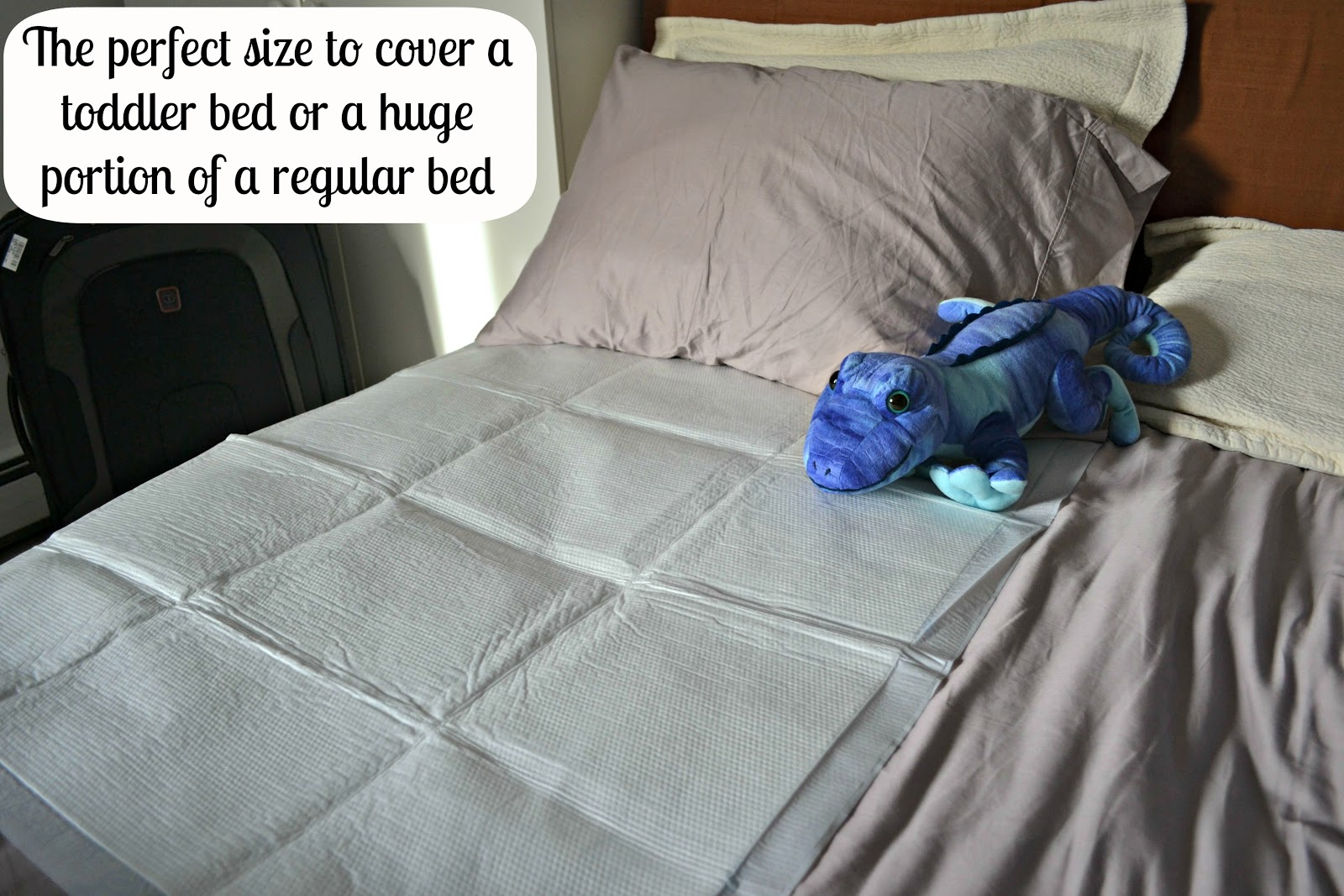 Mommy Testers Travel Genius Goodnites Disposable Bed Mats
