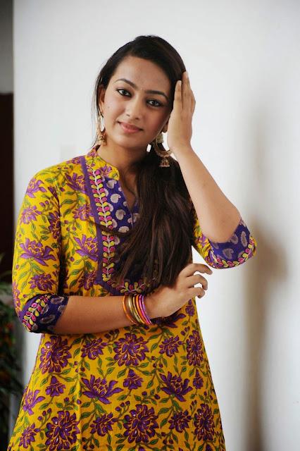Telugu Actress Ester Noronha In Yellow Salwar Photos at Veyyi Abaddalu Press Meet Images