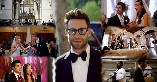 Watch Maroon 5 Sabotage A Real Wedding For Their New Music Video Sugar