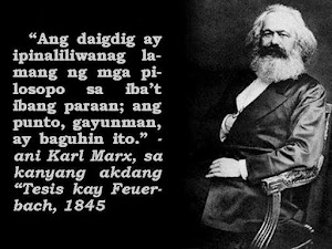 Ayon kay Karl Marx