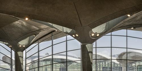 Queen Alia International Airport, Jordan designed by Foster+Partners