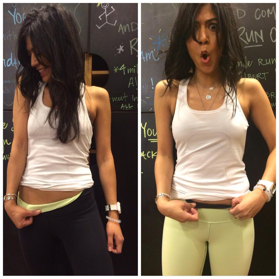lululemon clear mint wunder-under-crop