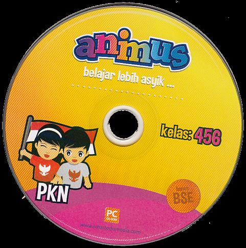 CD ANIMUS PKN KELAS 4, 5, 6 SD/ MI