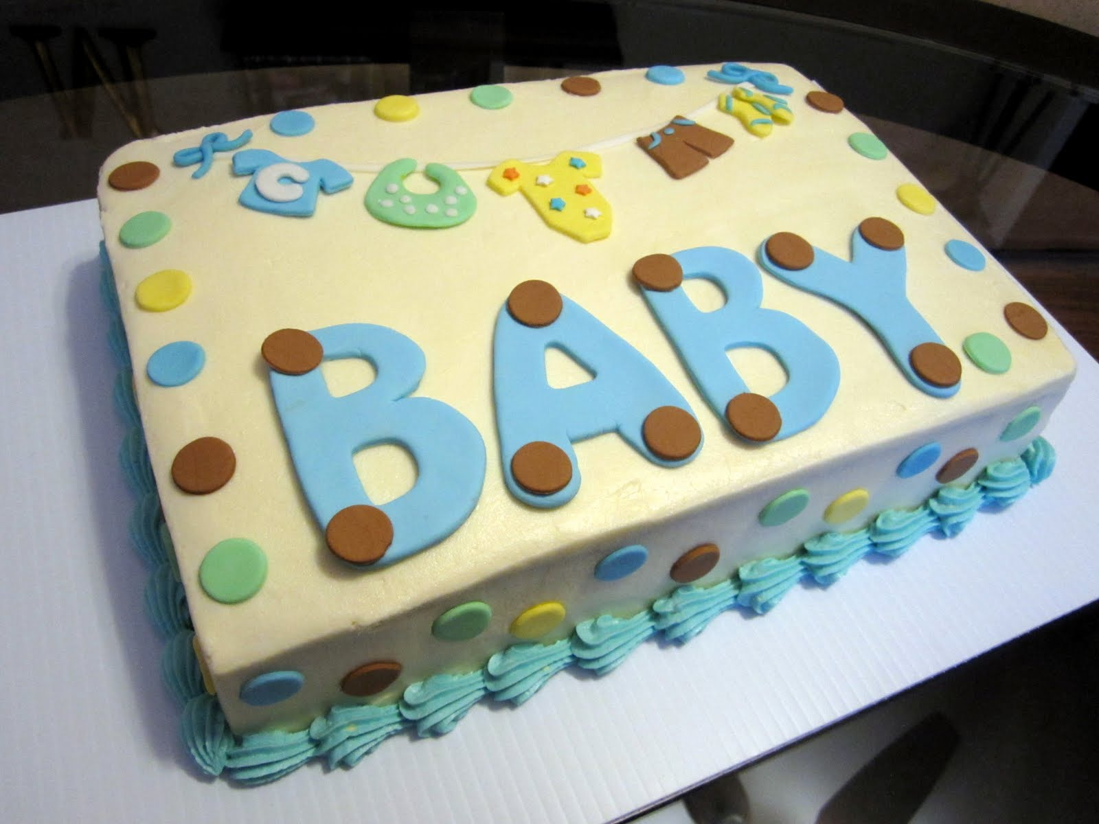 Meet the Matterns Baby Shower Cakes