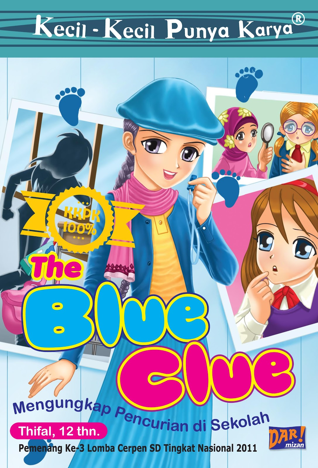 catatan kecil buku kkpk the blue clue
