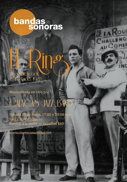 """La película """"The Ring"""" (1927) musicalizada por Calacas Jazz Band en la Cineteca Nacional"""