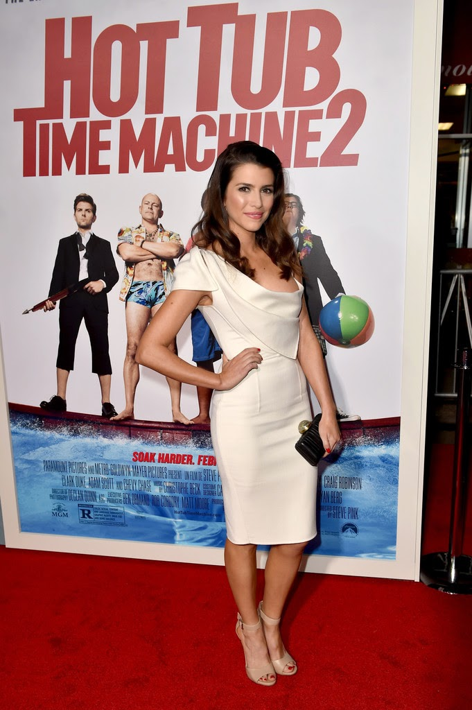 Actress: Bianca Haase - 'Hot Tub Time Machine 2' premiere in Westwood