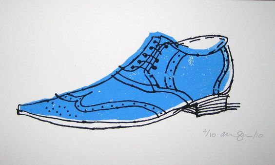 Zapato plano