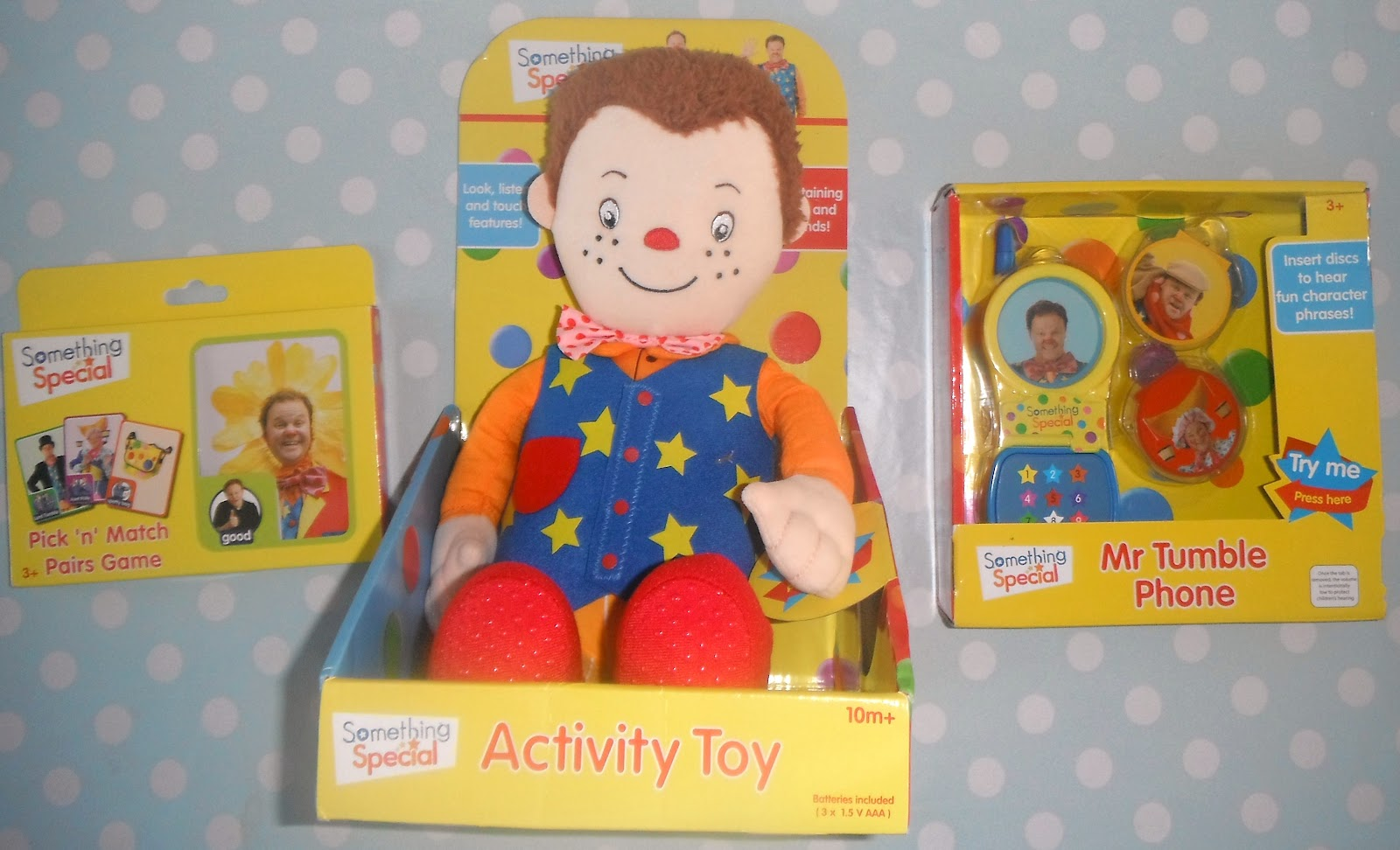 Madhouse Family Reviews: Mr Tumble Something Special toys ...