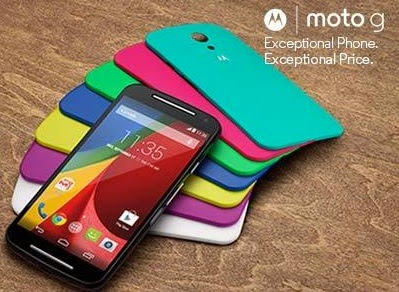 Meet the new Moto G 2nd Gen @ Rs.12,999