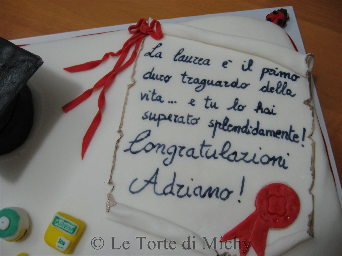 Top Torta di Laurea Scienze Infermieristiche – Le Torte di Michy DO13