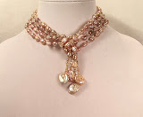 Necklace of the Month -Double pearl lariat
