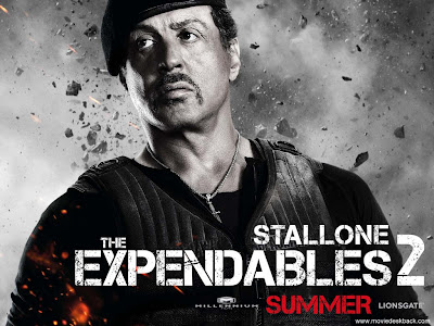 The Expendables 2 powerpoint background 12