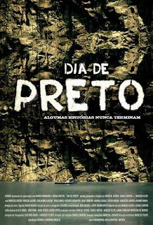 """Poster do filme """"Dia de Preto"""""""