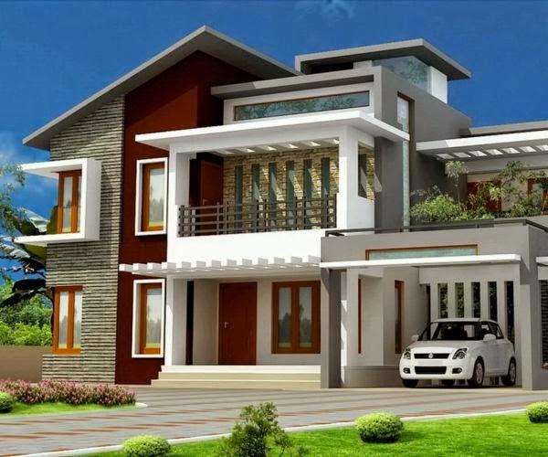 model rumah minimalis Modern 2014 3